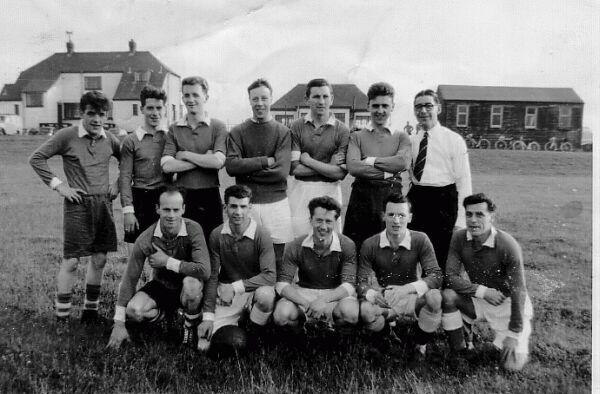 Colinton Vale FC Team 1956