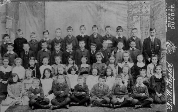 School Class Photograph c.1906