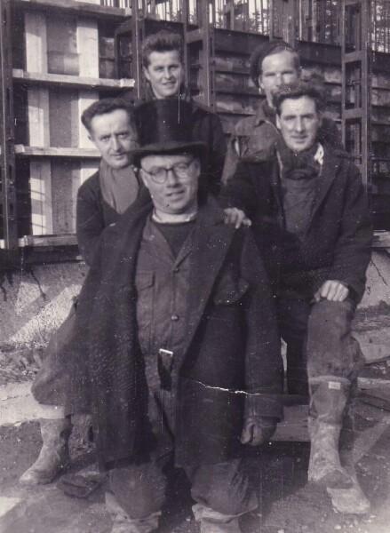 Roadworks Squad At Oxgangs Avenue/Greenbank c.1960