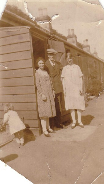 Young Family And Friend c.1926