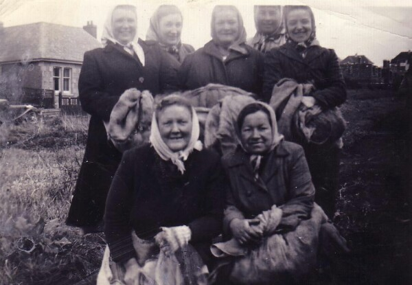 Tattie Howkers On Swanston Farm, early 1950s
