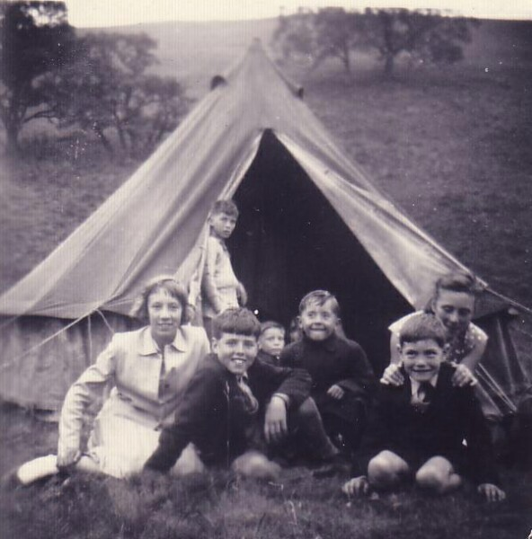 Visitors Day At Oxgang Life Boys Camp 1950s