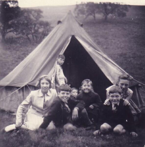 Visitors Day At Oxgangs Life Boys Camp At Romano Bridge, West Linton 1950s