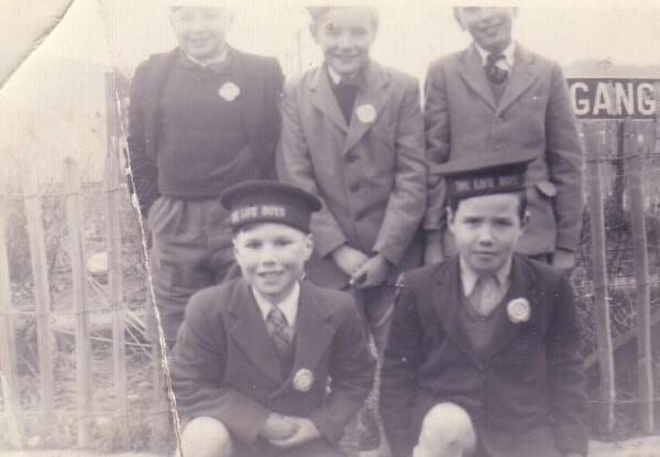 Life Boys Members 1953