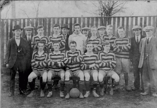 Benburb Football Club c.1919