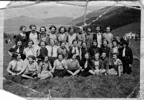 Govan High School Class S2C Outing 1935