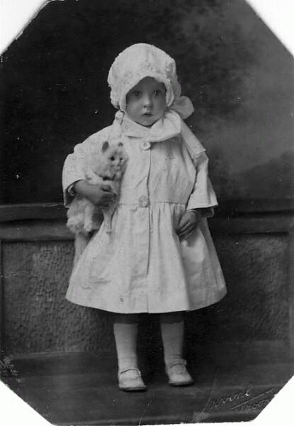 Studio Portrait Young Girl 1922