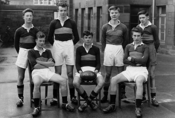 Trinity Academy Junior VII Rugby Team 1957