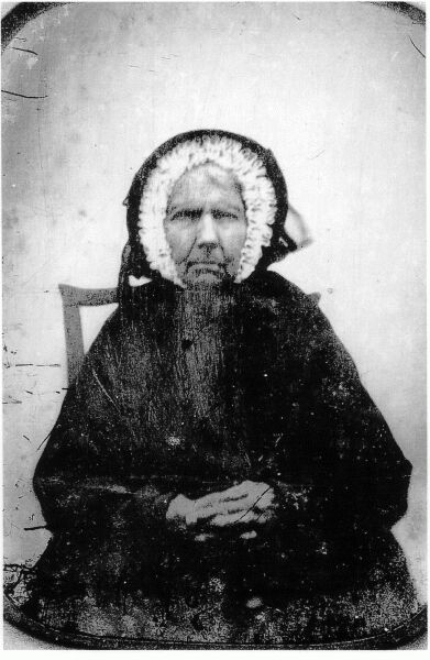 Portrait Lady In Black c.1850