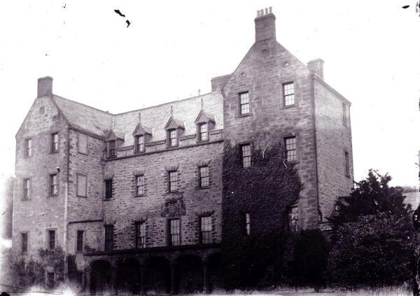 Careston Castle c.1890