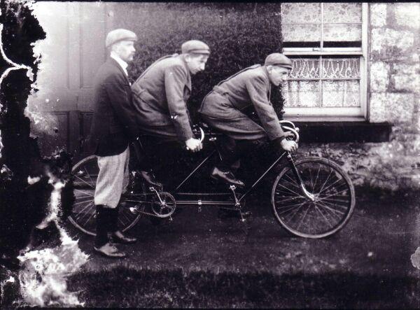 Tandem Bike c.1905