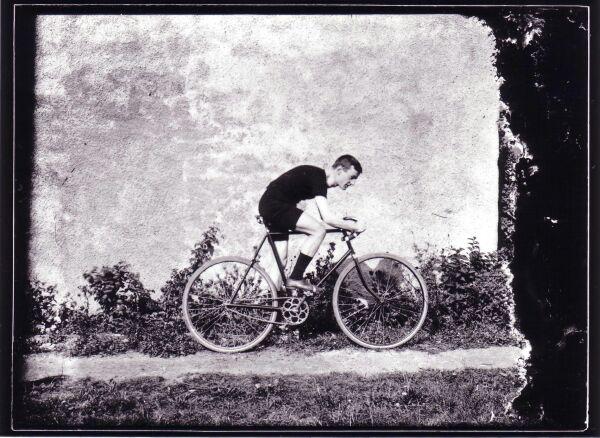 Racing Cyclist c.1905