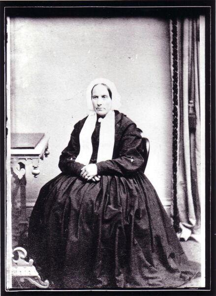 Studio Portrait Minister's Wife 1870s