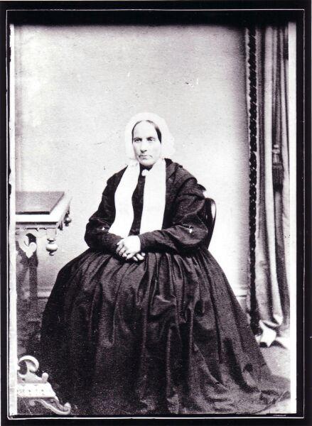 Studio Portrait Minister's Wife 1870s