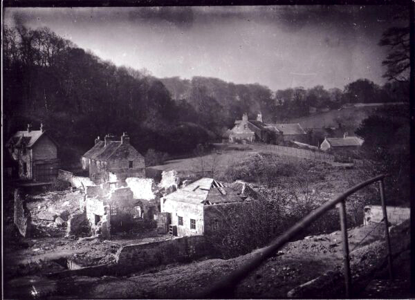 Ruins Of Redhall At Bottom Of Colinton Dell c.1900