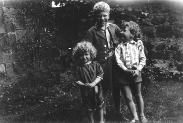 Children Playing In The Garden c.1931