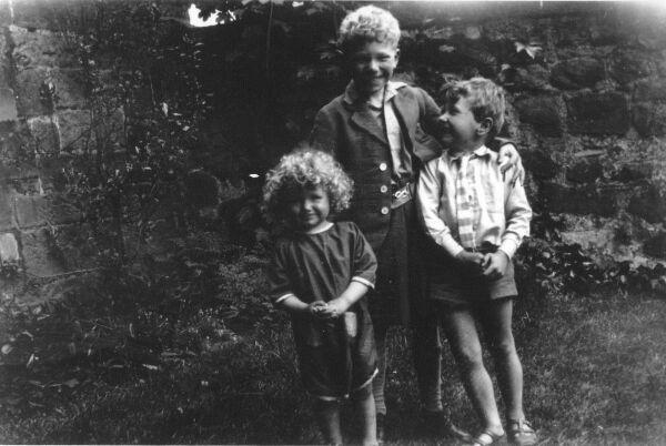 Children Playing In Garden At Belford Terrace c.1931