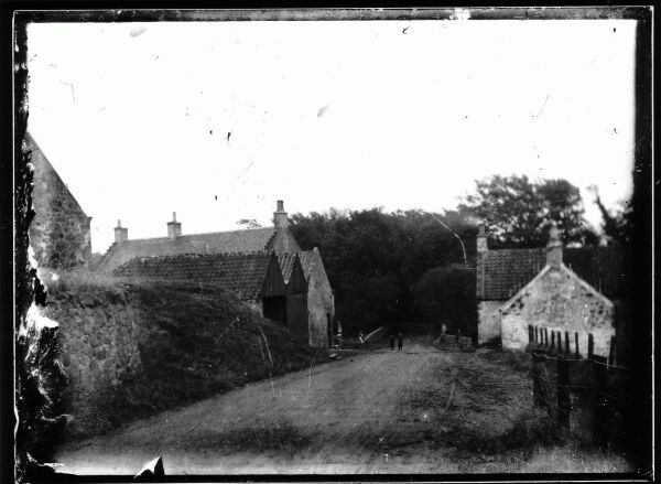 Middle Mill At Markinch - A Provender Mill c.1880