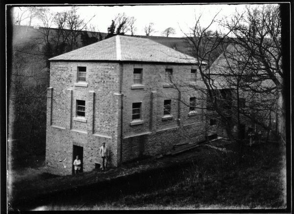 Rear Of Redhall Mill, early 1900s