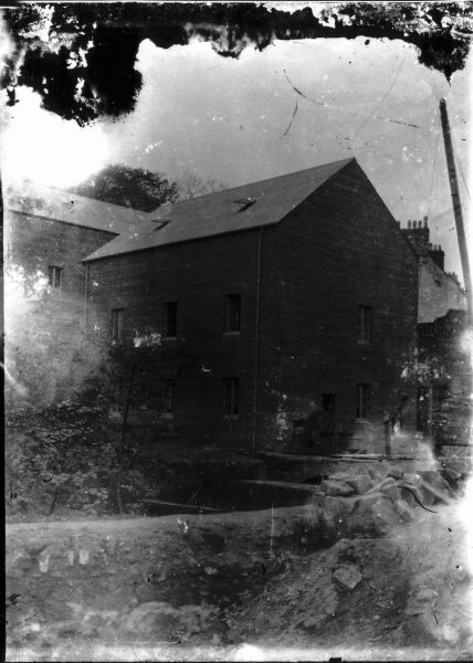 Front View Of Blantyre Mill, early 1900s