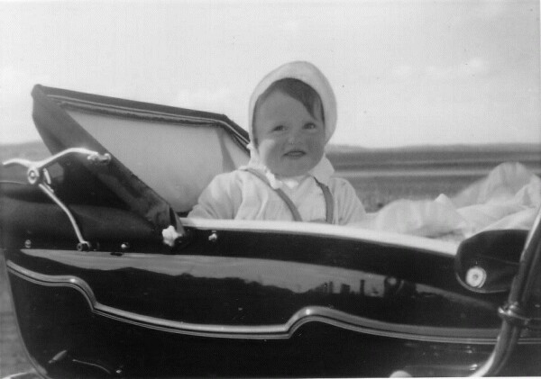 Young Child In Pram, July 1963