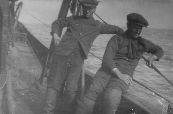 Fishermen Out Trawling 1930s