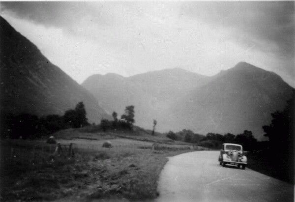 Automobile Touring The Highlands c.1958