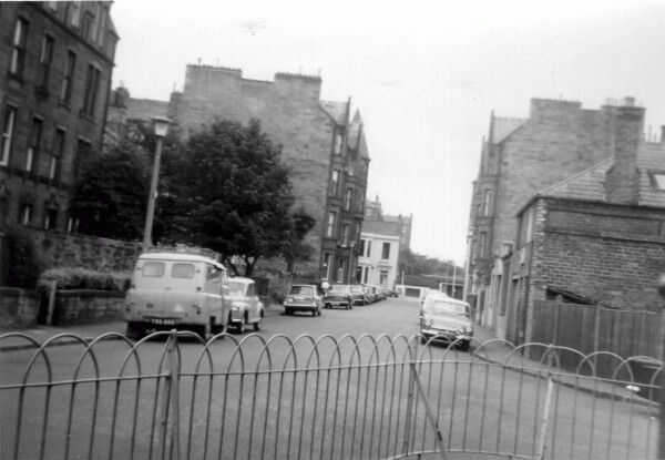 Upper Gilmore Place As Seen From Front Garden Of 28 Upper Gilmore Place 1967