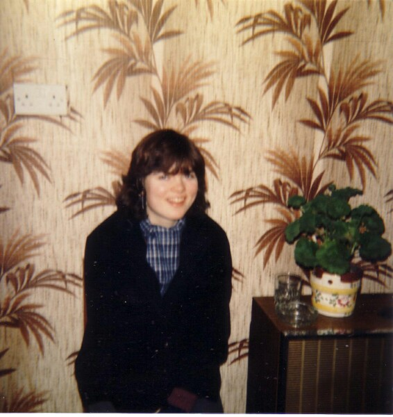 Teenager Round At Neighbour's House c.1982