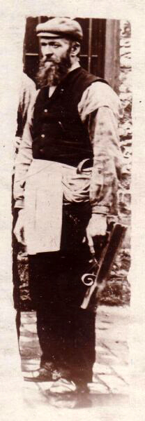 Cooper At Holyrood Breweries c.1890