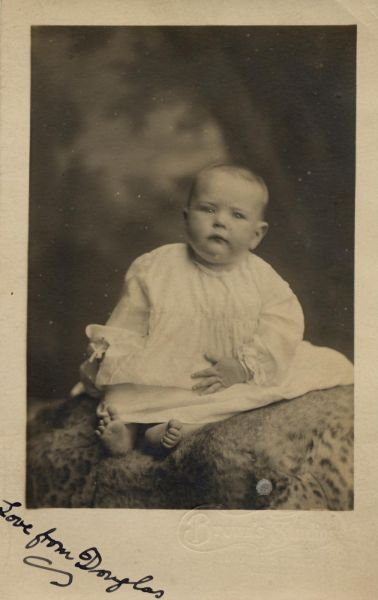 Studio Portrait Young Child, 11 Sept 1919