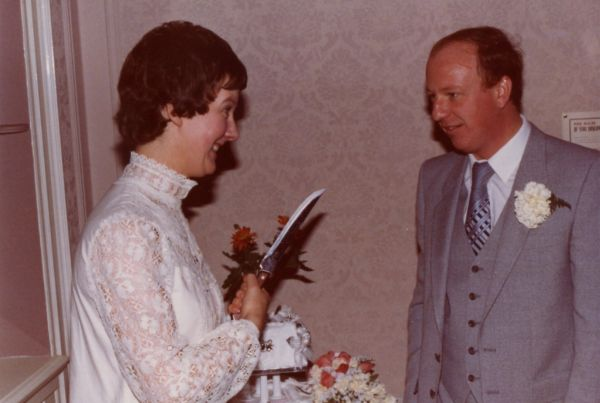 About To Cut The Cake, 21 November 1980
