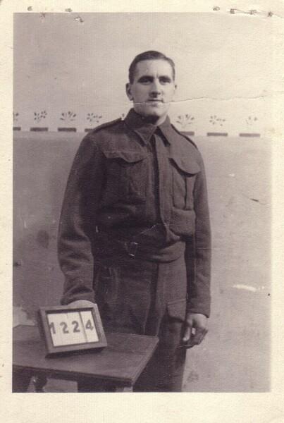 British Prisoner Of War In Germany 1940s
