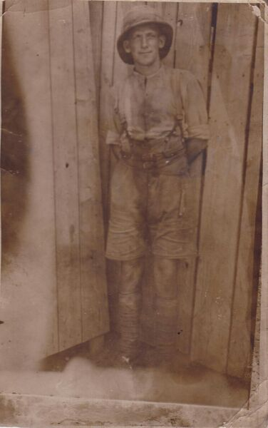 Infantryman First World War 1914-18
