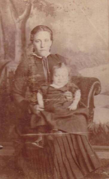 Studio Portrait Mother And Child 1892