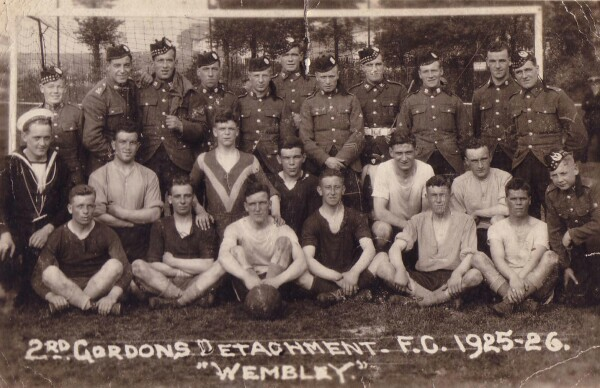 Gordon Highlander Football Team 1925-26