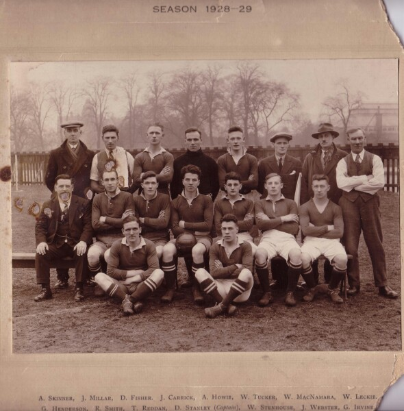 Castle Mills Football Club 1928-29