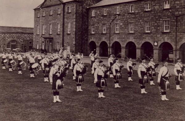 Gordon Highlanders Military Band c.1920