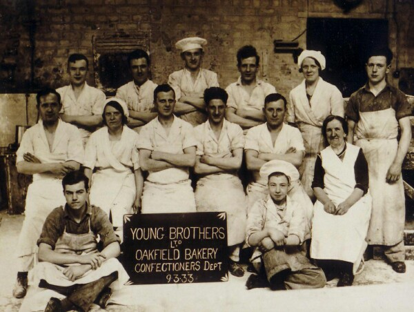 Confectionery Department Of Young Brothers' Oakfield Bakery At The Pleasance, 9 March 1933