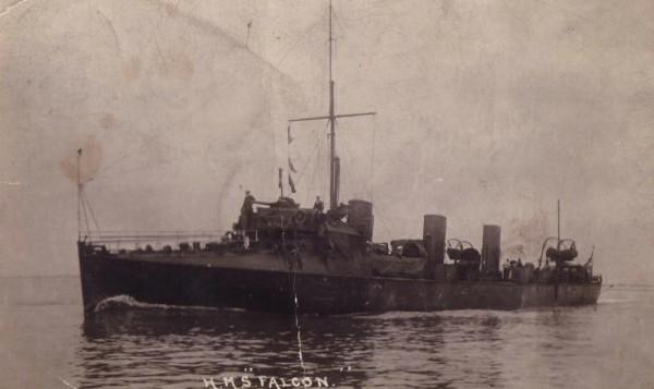 HMS Falcon 1914-1918