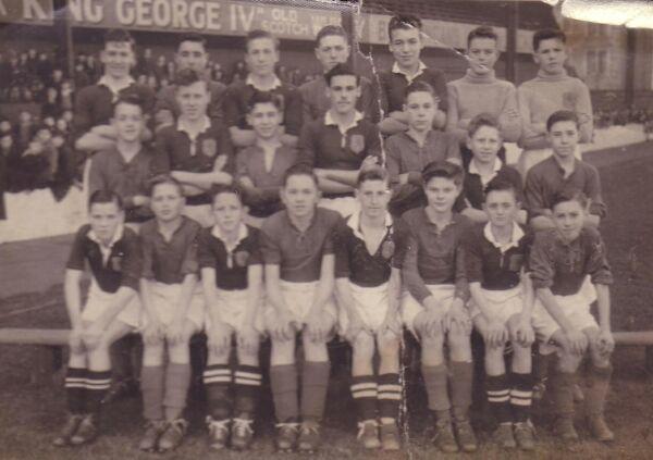 Leith Schools Football Team 1947