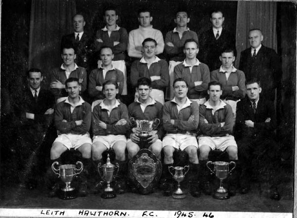 Leith Hawthorn Football Club Team 1945-46