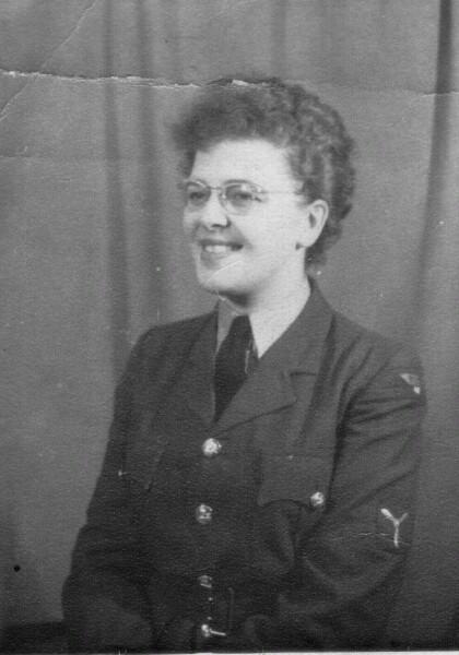 Member Of The Women's Royal Air Force, RAF Horsham c.1957