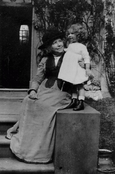 Grandmother And Granddaughter 1917
