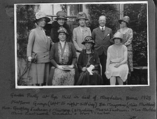 Charity Garden Party 1928