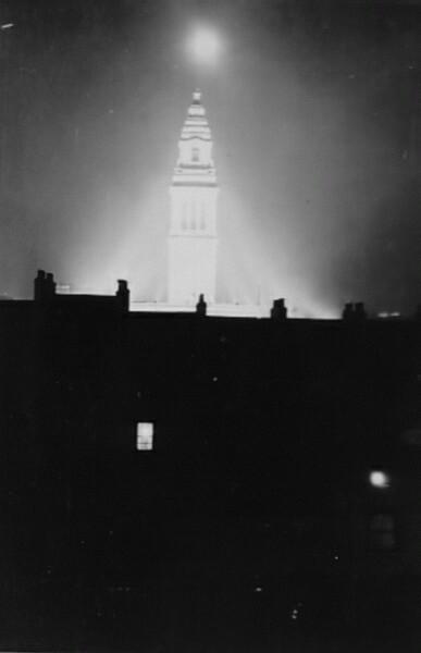 Floodlit Tower 1930s