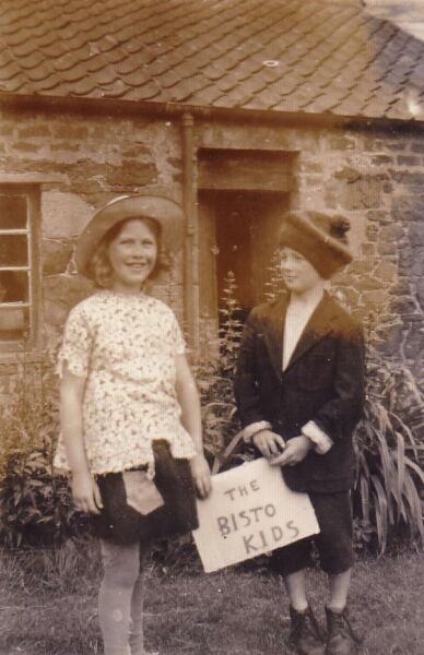 Two Children In Fancy Dress 1952