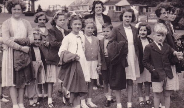 Children At Gala In Cupar On Coronation Day, 2nd June 1953