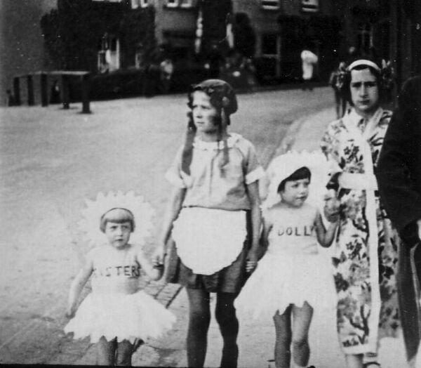 Children Taking Part In Fancy Dress Parade c.1932