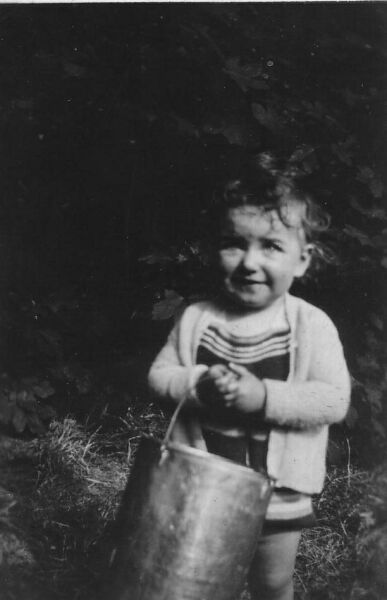 Young Girl With Bucket c.1933